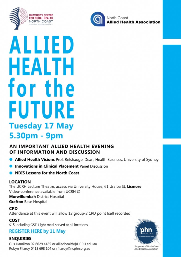 Allied Health for the Future